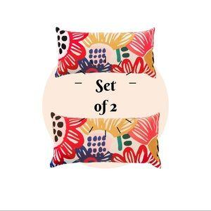 IKEA - Set of 2 Sommaraster Cushion Accent Pillows